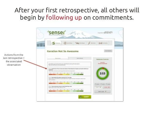 Quick Guide: Sensei Retrospective Flow Slide 3
