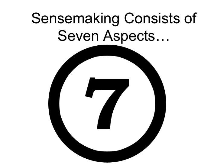 Sensemaking Theory