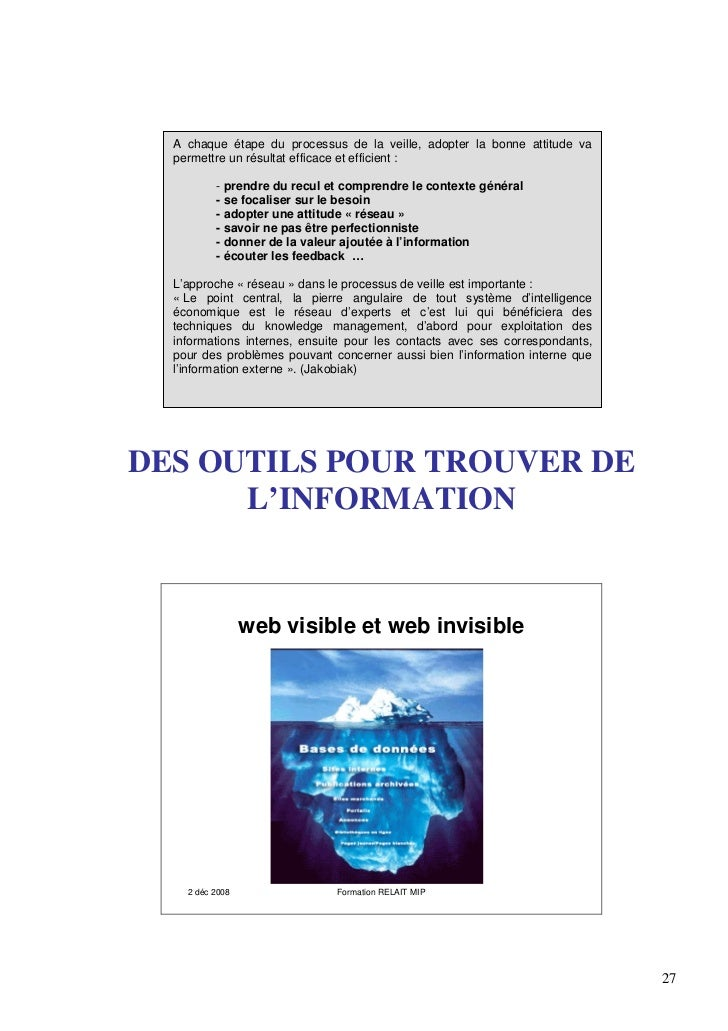 sensibilisation intelligence economique