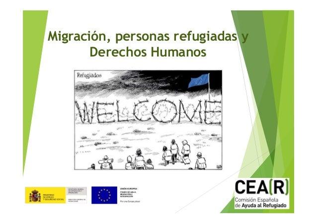 Migración, personas refugiadas y Derechos Humanos