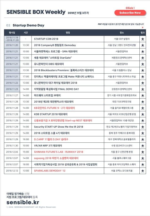 [센서블박스 정기배송] 2018년 11월 4주차 Slide 3