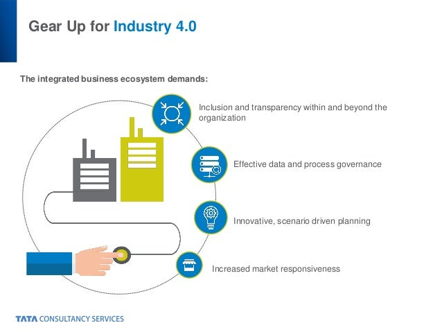 Gear Up for Industry 4.0 The integrated business ecosystem demands: Inclusion and transparency within and beyond the organ...