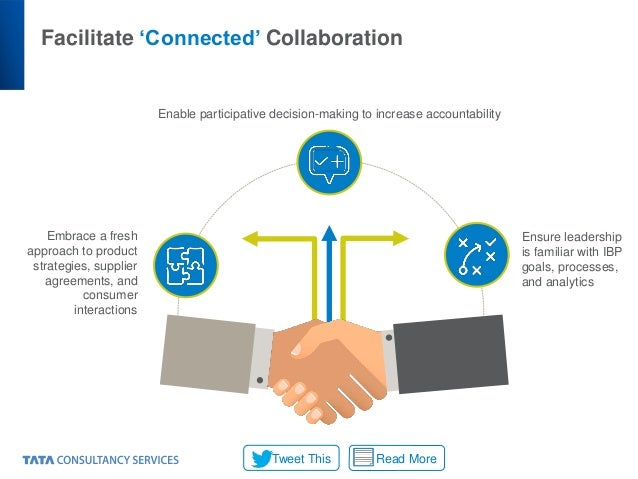 Facilitate 'Connected' Collaboration Embrace a fresh approach to product strategies, supplier agreements, and consumer int...
