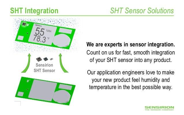 Sensirion humidity sensor driver in SensorStudio (IDC 2016)