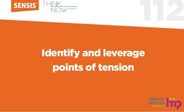 112 Identify and leverage points of tension