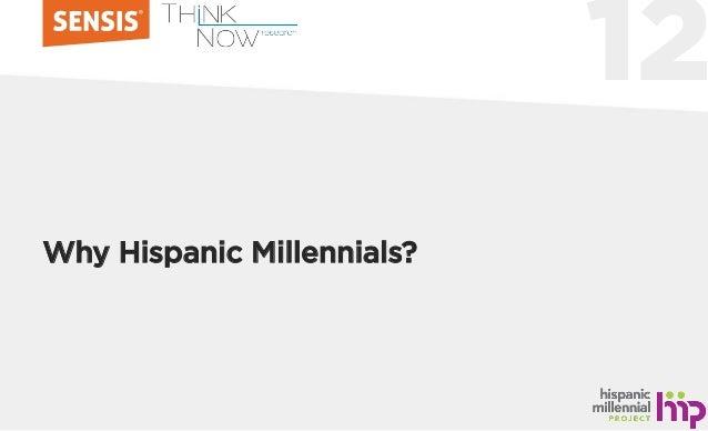 12 Why Hispanic Millennials?