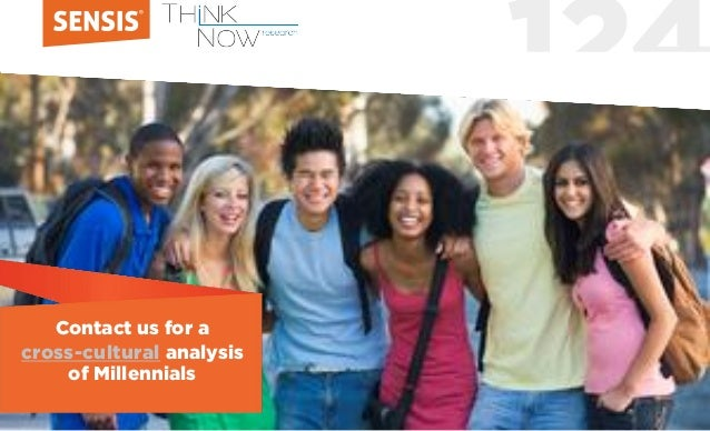 124 Contact us for a cross-cultural analysis of Millennials