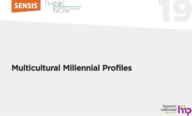19 Multicultural Millennial Profiles