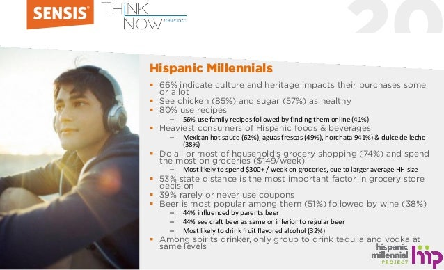 20  66% indicate culture and heritage impacts their purchases some or a lot  See chicken (85%) and sugar (57%) as health...