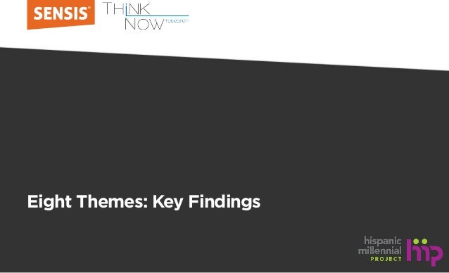 Eight Themes: Key Findings