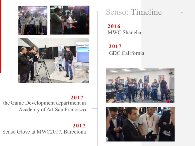 2016 MWC Shanghai 2017 the Game Development department in Academy of Art San Francisco 19 2017 2017 Senso Glove at MWC2017...