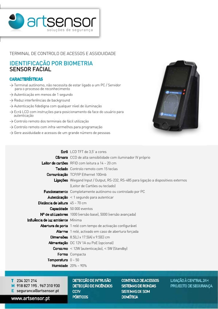 Sensor biometrico facial