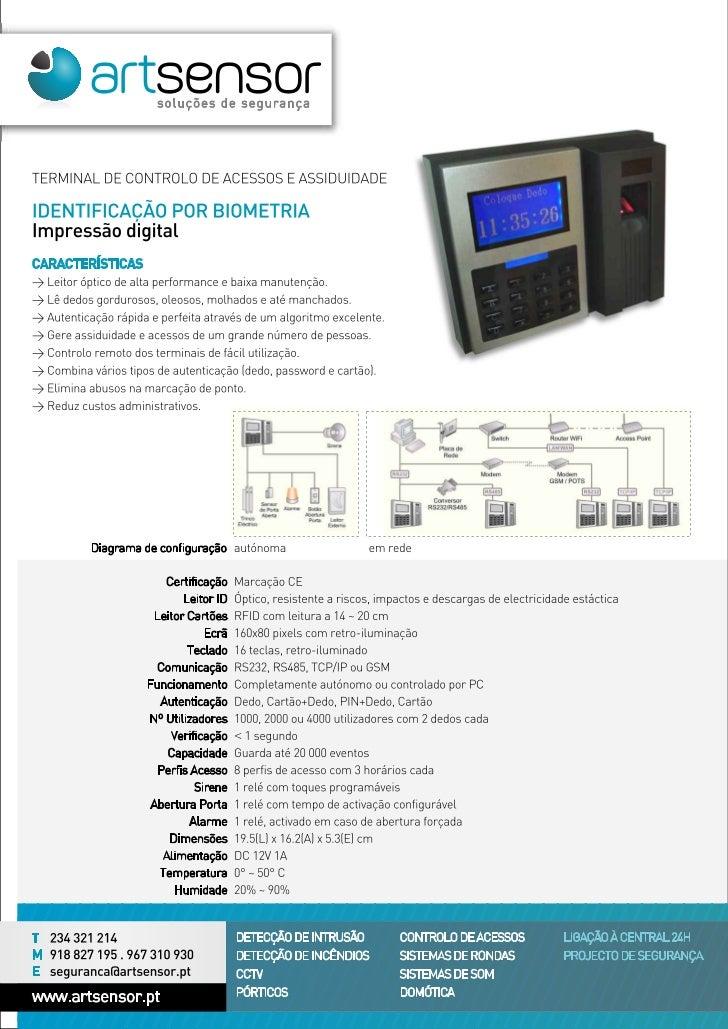 Sensor biometrico de impressao digital