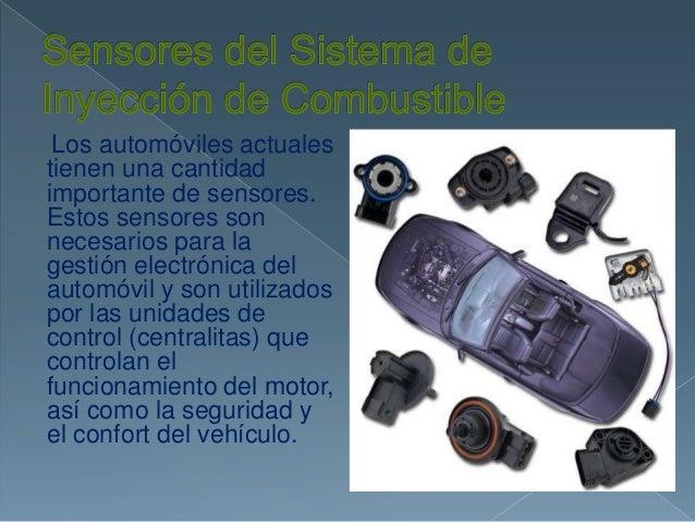 Los automóviles actuales tienen una cantidad importante de sensores. Estos sensores son necesarios para la gestión electró...