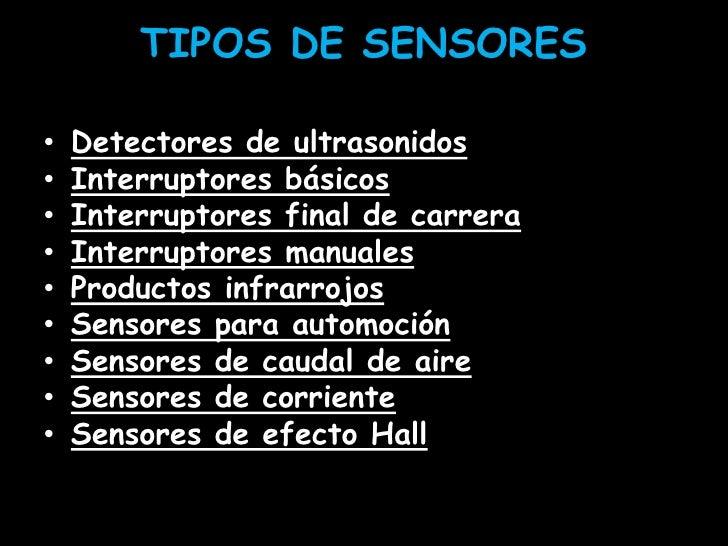 Sensores de luz y movimiento - Tipos de interruptores de luz ...