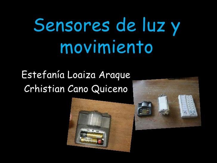 Sensores de luz y movimiento 2 - Luz sensor movimiento ...