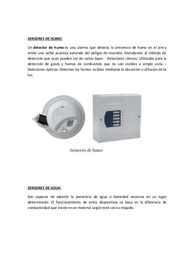 Detectores de humos top sensores de humo un detector with - Sensores de humo ...