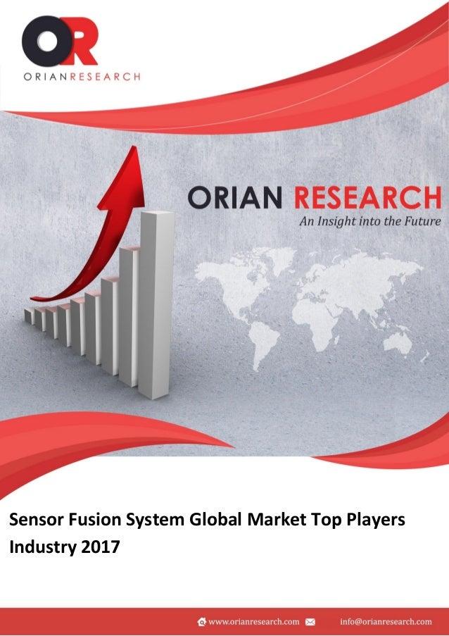 Sensor fusion system market