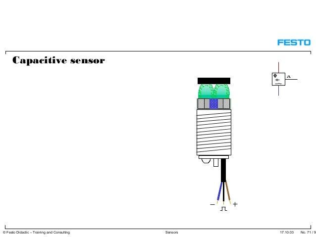 inductive proximity sensor symbol