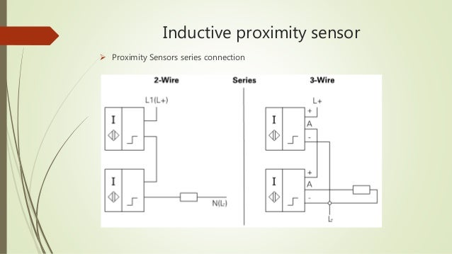 inductive proximity sensor  proximity sensors series connection