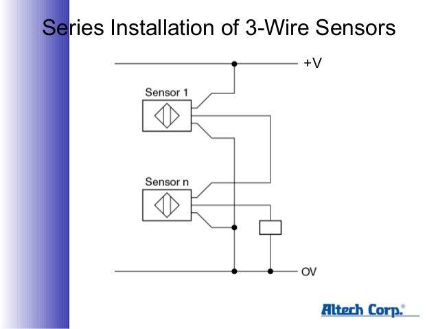 sensors series installation of 3 wire sensors v