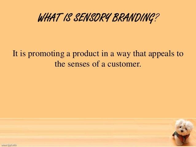 Sensory branding Slide 2