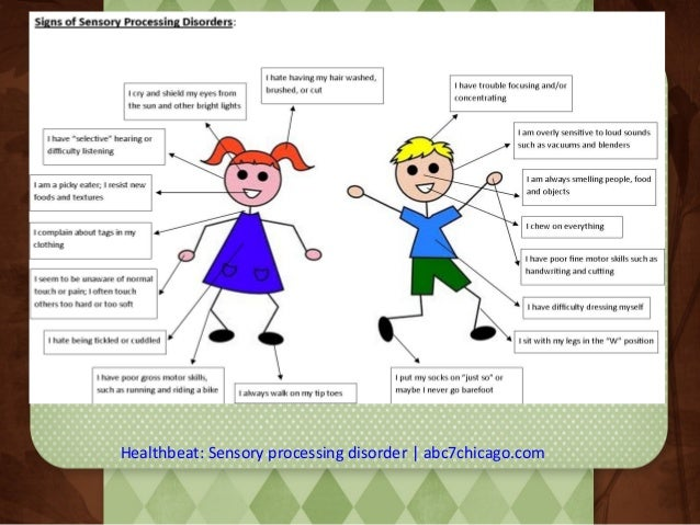Healthbeat: Sensory processing disorder   abc7chicago.com