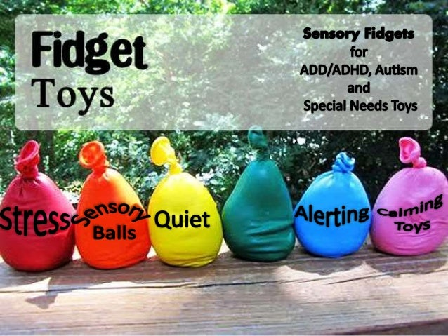 Fidget Toys For Adhd Students : Sensory fidget toys for add adhd austim special needs