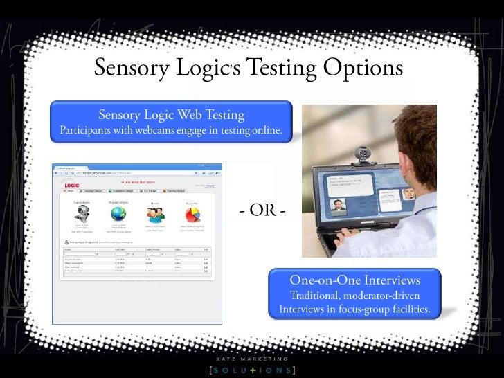 Sensory logic 2011 slideshare - 웹
