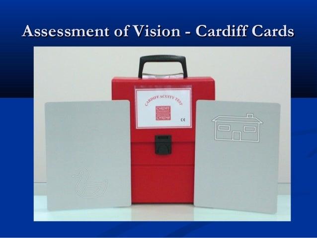 Assessment of Vision – occludingAssessment of Vision – occluding glassesglasses