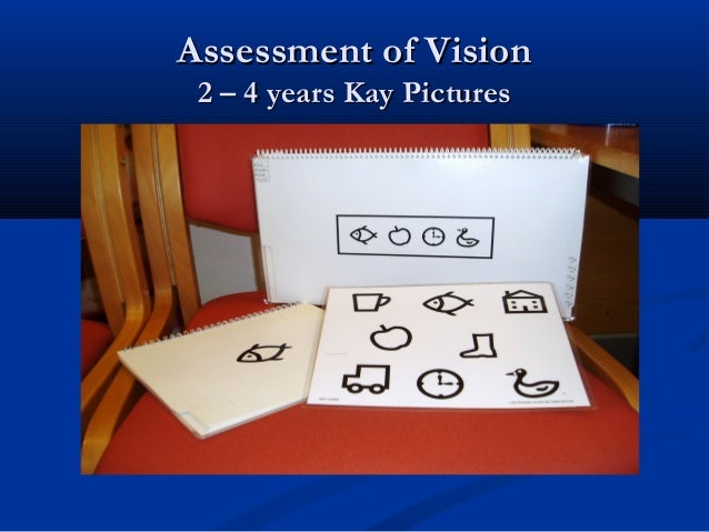 Assessment of VisionAssessment of Vision 4 – 6 years Crowded logMAR4 – 6 years Crowded logMAR