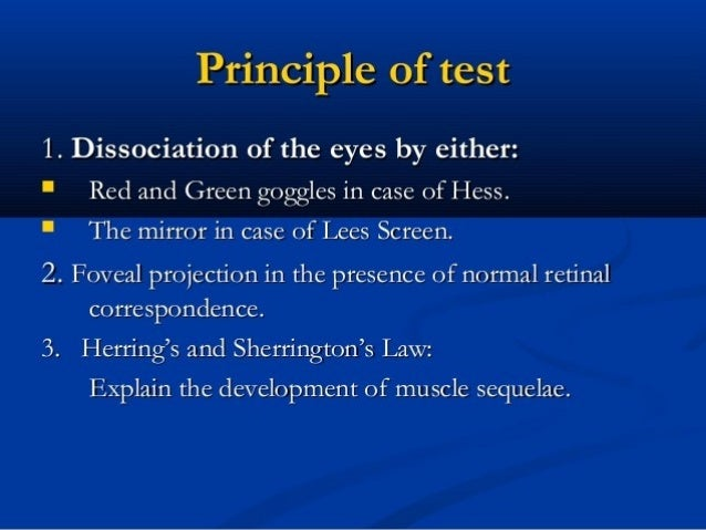 Tests for sensory anomalies Worth four-dot test a - Prior to use of glasses b - Normal c - Left suppression/ amblyopia d -...