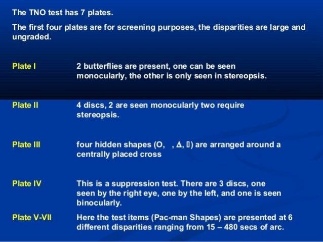 Sensory & motor evaluation of strabismus