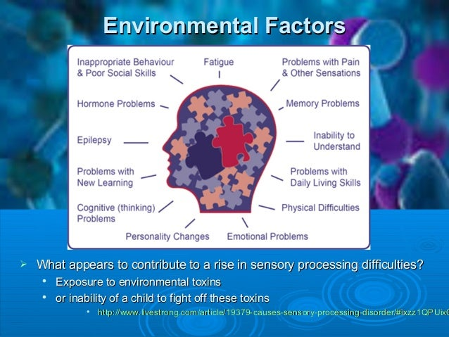 Sensory Processing Disorder 44977303 on fetal alcohol syndrome