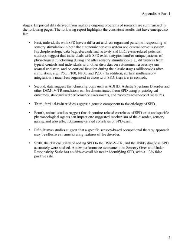 Sensory processing disorder_dsm-5_proposal Slide 3