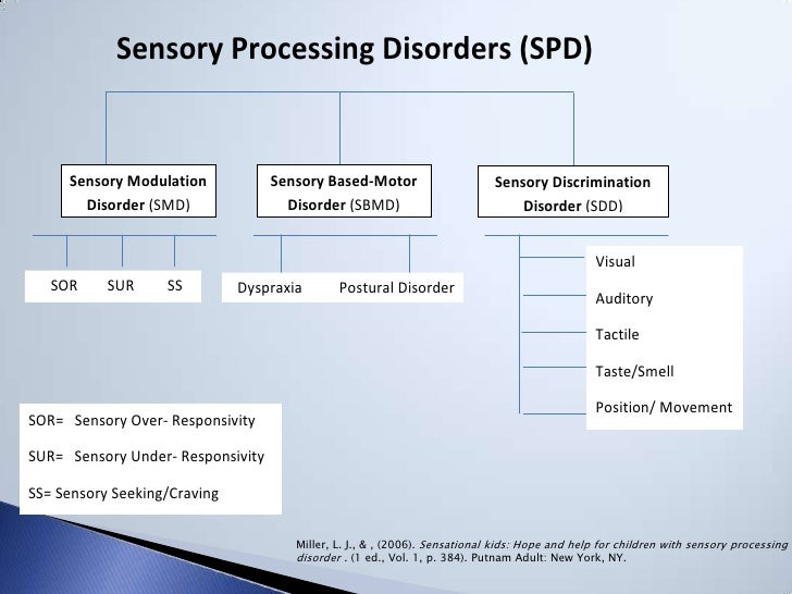 Sensory strategies and issues presentation for Visual motor processing disorder