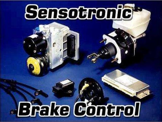 Sensotronic brake control for Mercedes benz sensotronic brake control sbc