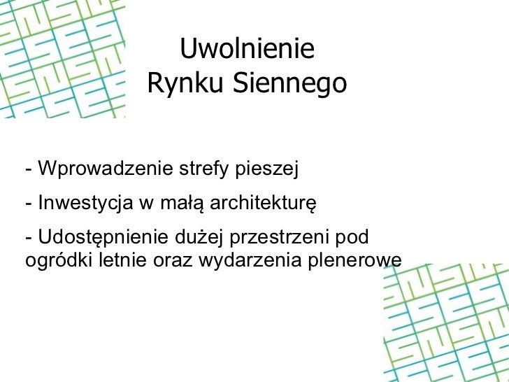 INWESTYCJE- Budowa parkingu dla mieszkańców- Rozbudowa parkingów pod Trasą Zamkową