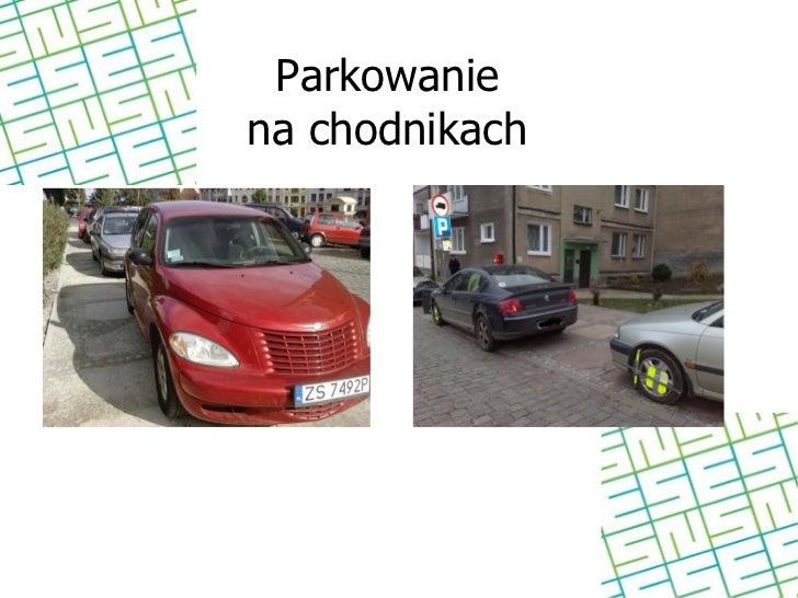 Parkowaniena chodnikach