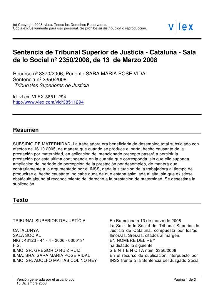 (c) Copyright 2008, vLex. Todos los Derechos Reservados. Copia exclusivamente para uso personal. Se prohibe su distribució...