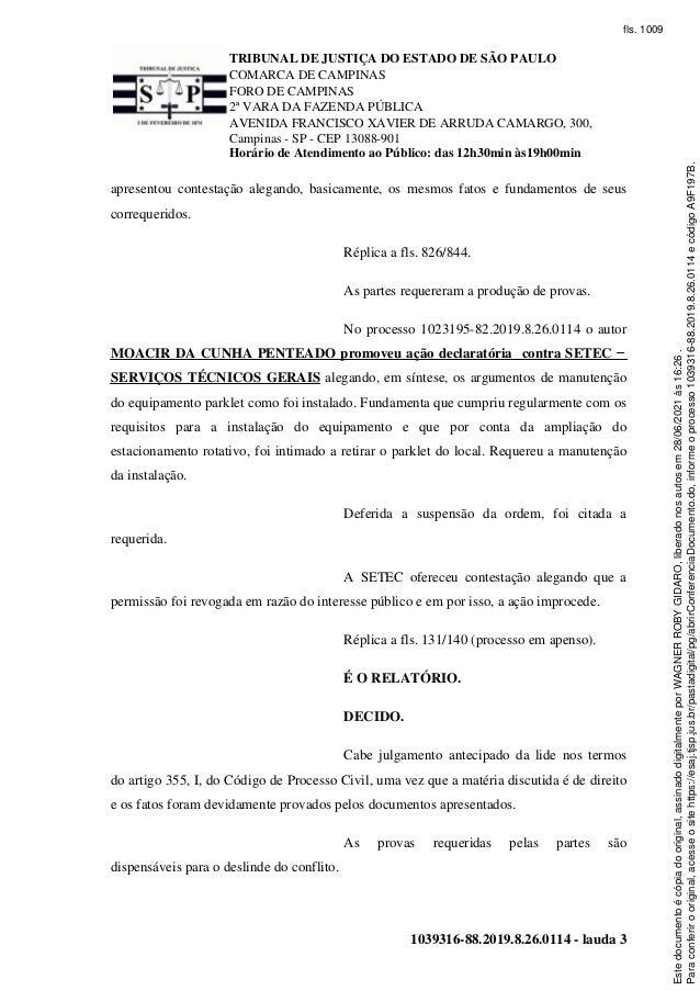 Parklet Cambuí -Sentença 28/6/21 Slide 3