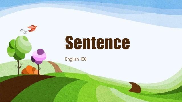 Sentence English 100