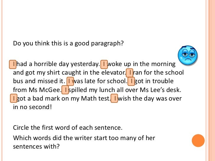 good transition sentences for essays Transition words are like road signs they help the reader understand the direction of your thought examples: actually, most of his classmates were awake here is a chart of example transition words you can use to guide your reader through your essays above.