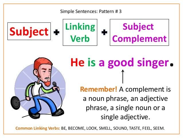 simple english sentences