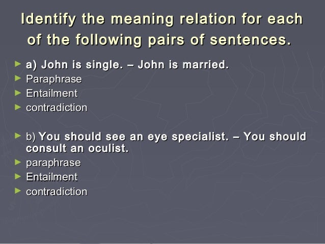 Sentence semantics for Sentence of floor