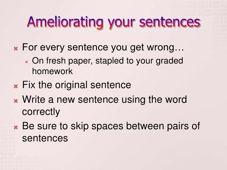 Write simple sentences with too…to