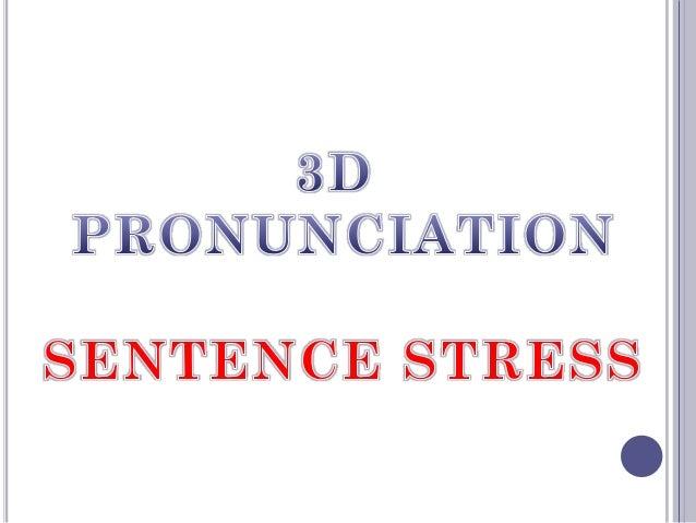 Sentence stress