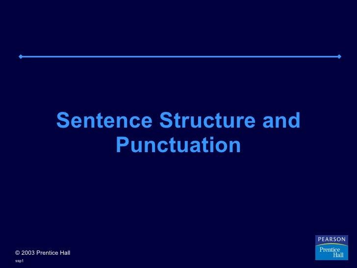 Sentence struct punct-4.ppt