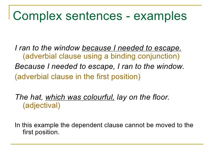 Sentence structure 3 for Sentence of floor