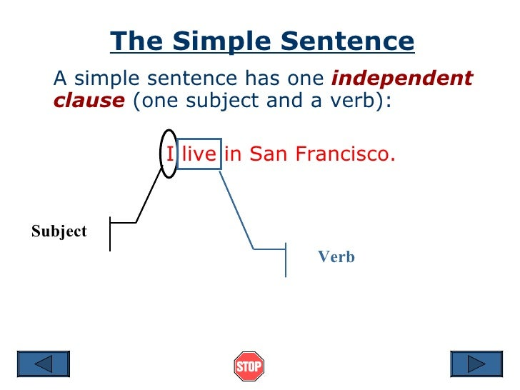 Simple sentence structure selol ink simple sentence structure ccuart Choice Image